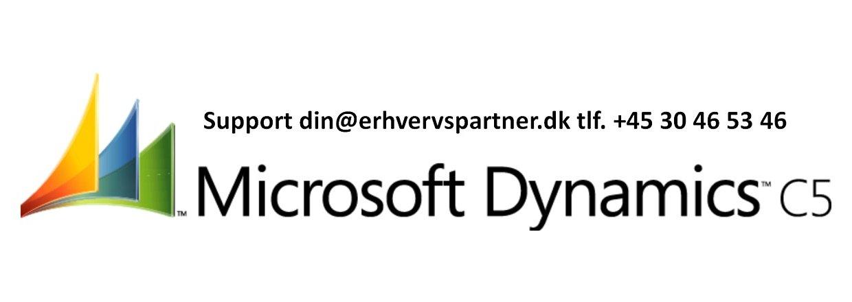 C5 - Dynamic og version 2012 og øvrige som E-conomic - Stellar Office m.v.